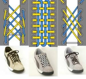 Cara Tali Sepatu - Cara Mengikat Tali Sepatu Yang Keren