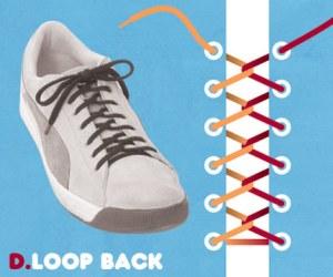 Cara Tali Sepatu - Cara Mengikat Tali Sepatu Bergaya Loop Back
