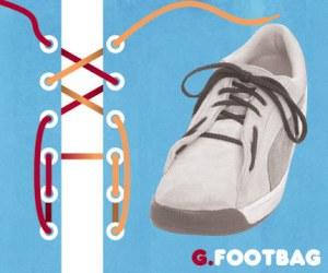 Cara Tali Sepatu - Cara Mengikat Tali Sepatu Bergaya FootBag