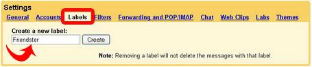Pembuatan Label Filter Gmail