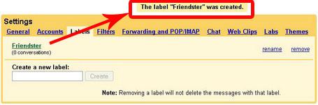 Label Fiter Gmail Berhasil Dibuat